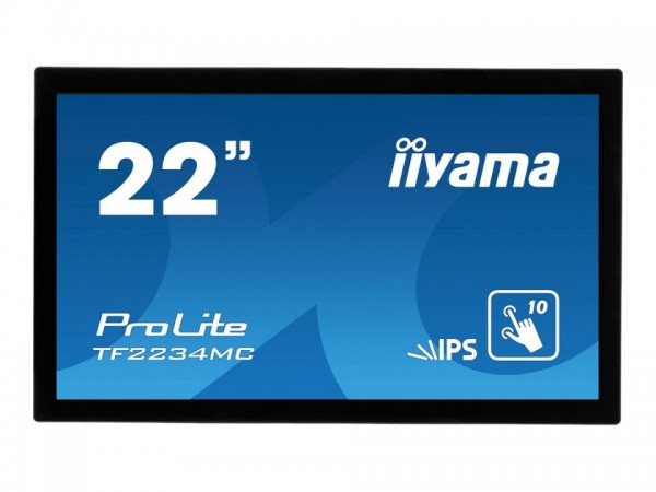 "Iiyama ProLite TF2234MC-B6AGB - LED-Monitor - 55.9 cm (22"") TF2234MC-B6AGB"