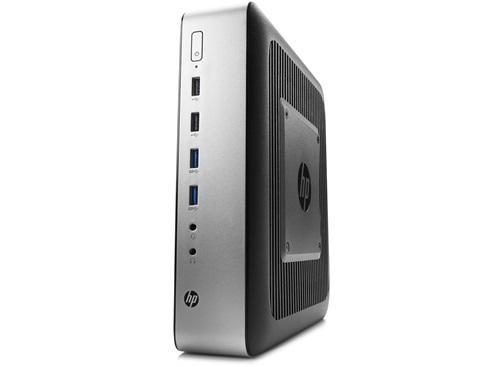 HP t730. Prozessor-Taktfrequenz: 2,7 GHz, Prozessor: RX-427BB, Prozessorfamilie: 2nd Generation AMD