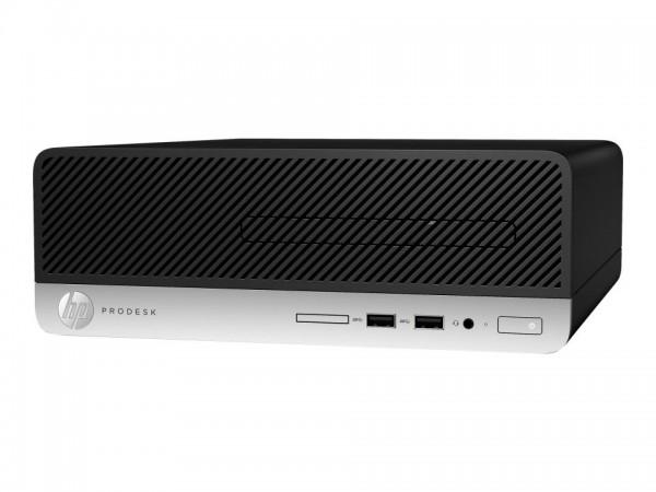 HP ProDesk 400 G6 - SFF - Core i3 9100 / 3.6 GHz - RAM 8 GB - SSD 256 GB - NVMe - DVD-Writer - UHD G