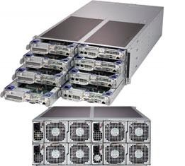 Supermicro FatTwin SuperServer F619P2-FT SYS-F619P2-FT - Server - 2,4 GHz Prozessor Festplatte SYS-F