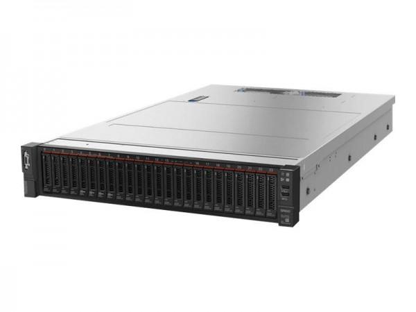 Lenovo ThinkSystem SR650 7X06 - Server - Rack-Montage - 2U - zweiweg - 1 x Xeon Silver 4210 / 2.2 GH