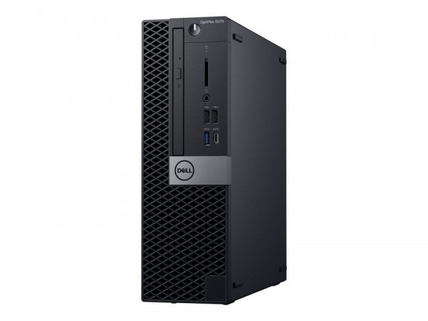 Dell OptiPlex 5070 - SFF - Core i5 9500 / 3 GHz - RAM 16 GB - SSD 256 GB - DVD-Writer - UHD Graphics