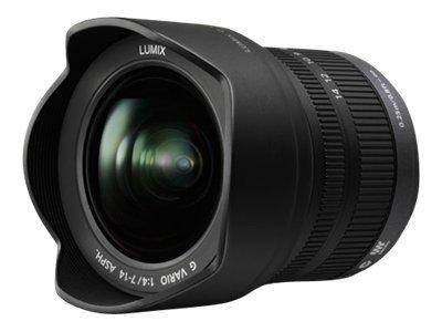 Panasonic Lumix H-F007014E - Weitwinkel-Zoom-Objektiv - 7 mm - 14 mm - f/4.0 G VARIO - Micro Four Th
