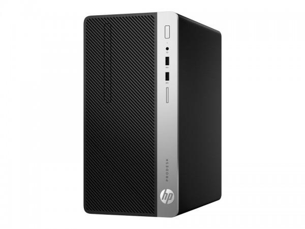 HP ProDesk 400 G6 - Micro Tower - Core i3 9100 / 3.6 GHz - RAM 8 GB - SSD 256 GB - NVMe - DVD-Writer