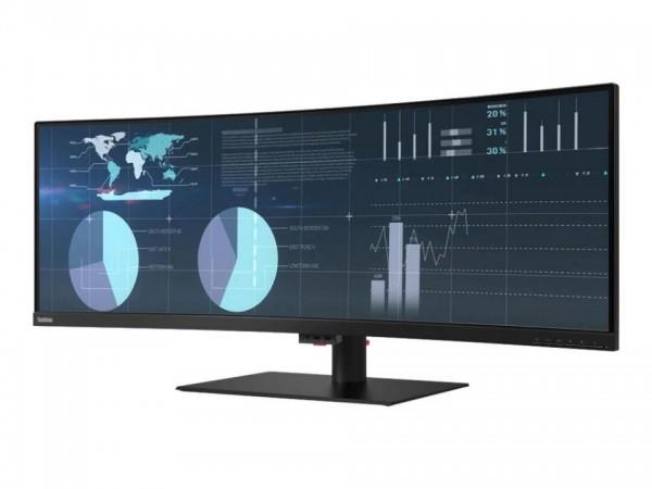"Lenovo ThinkVision P44w-10 - LED-Monitor - gebogen - 110 cm (44"") 61D5RAT1EU"