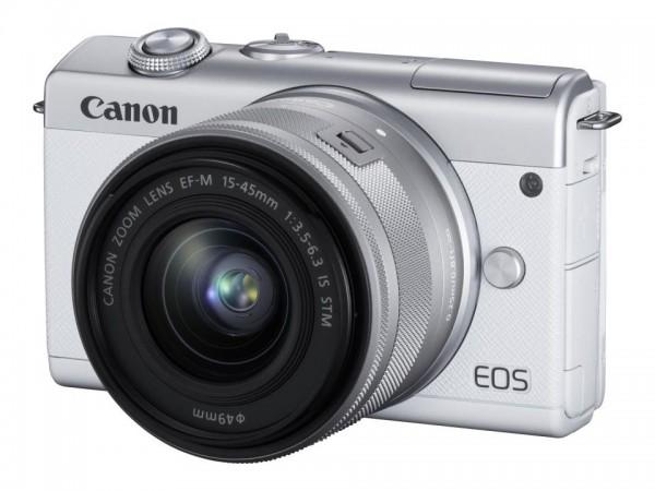 Canon EOS M200 - Digitalkamera - spiegellos - 24.1 MPix - APS-C - 4K / 25 BpS - 3x optischer Zoom EF