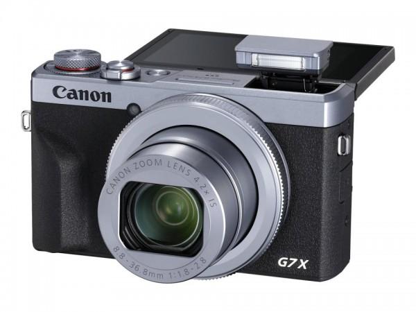 Canon PowerShot G7 X Mark III - Digitalkamera - Kompaktkamera - 20.1 MPix - 4K / 30 BpS - 4.2x optis