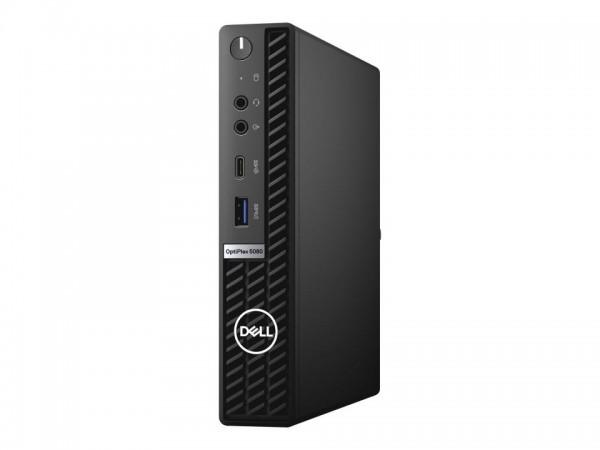 Dell OptiPlex 5080 - Micro - Core i3 10100T / 3 GHz - RAM 8 GB - SSD 256 GB - UHD Graphics 630 - Gig