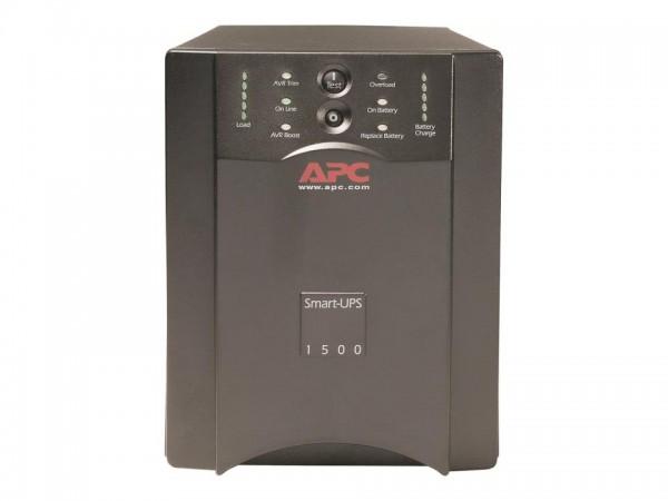 APC Smart-UPS 1500VA USB & Serial - USV - Wechselstrom 230 V - 1500 VA - RS-232, USB - Ausgangsansch