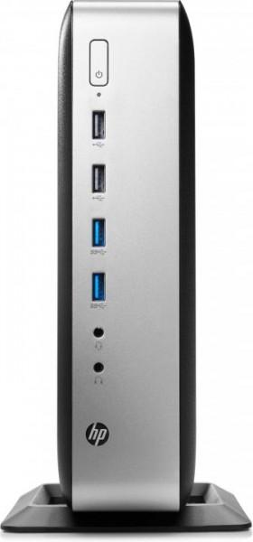 HP t730. Prozessor-Taktfrequenz: 2,7 GHz, Prozessorhersteller: AMD, Prozessor: RX-427BB. RAM-Speiche