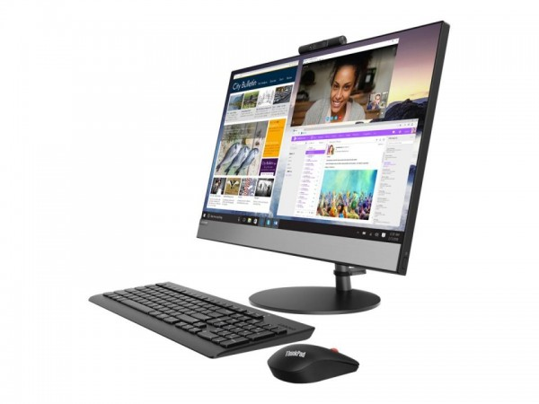 Lenovo V530-24ICB 10UW - All-in-One (Komplettlösung) - mit Monitorständer - Core i3 8100T / 3.1 GHz